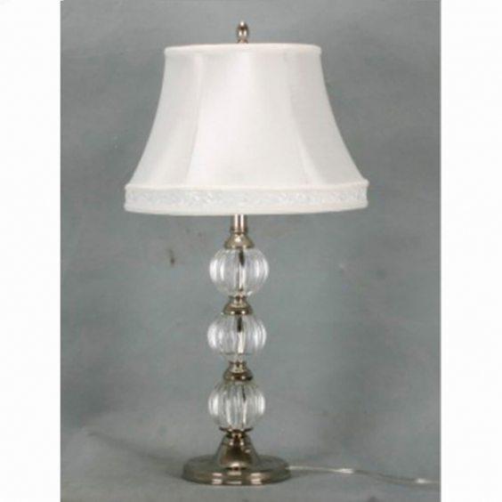 מנורה מעוגלת קריסטל