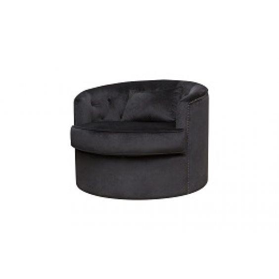 כורסא סביל שחורה