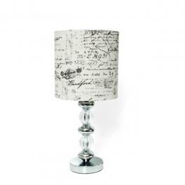 מנורה שולחנית כדורי קריסטל