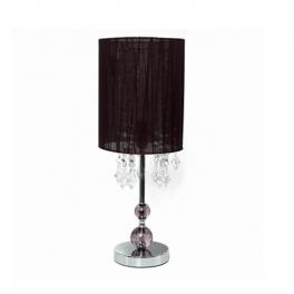 מנורה שולחנית-קריסטל סגול