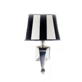 מנורת קיר אובלית פסים