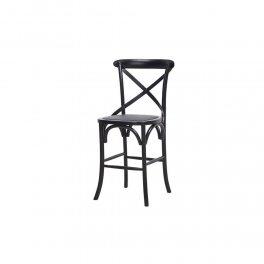 כסא בר שחור
