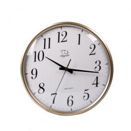 שעון קלאסי שחור/לבן